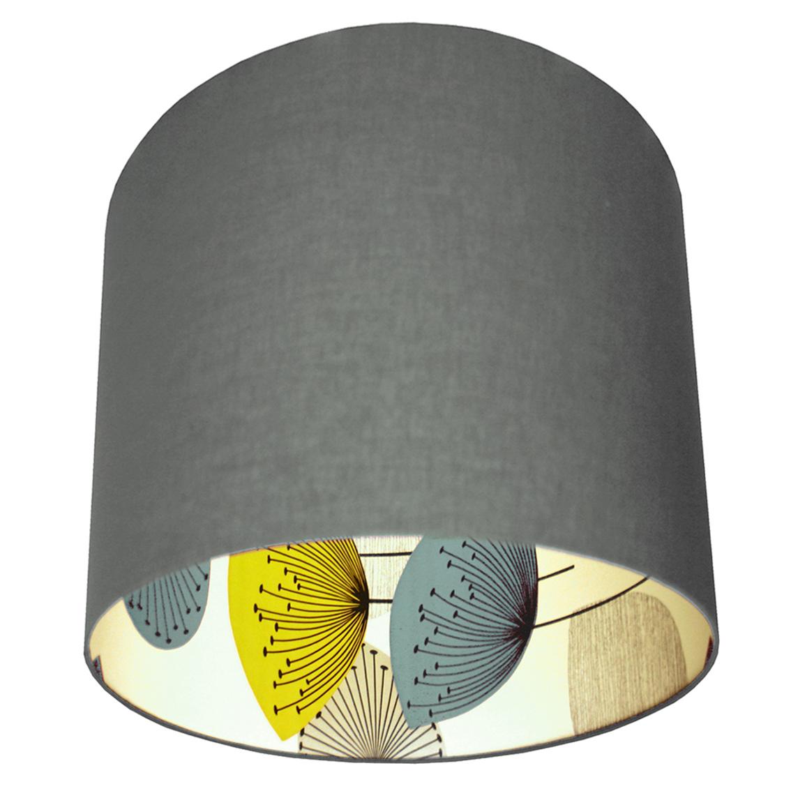 Sansderson Dandelion Clocks Wallpaper Lampshade In Grey