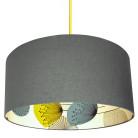 Sanderson dandelion clocks wallpaper lampshade