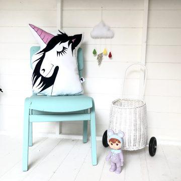 Sleepy Unicorn Cushion