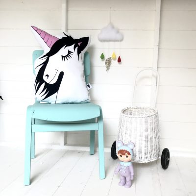 Sleepy Unicorn Cushion