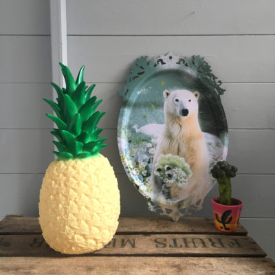 tropical pina colada pineapple lamp