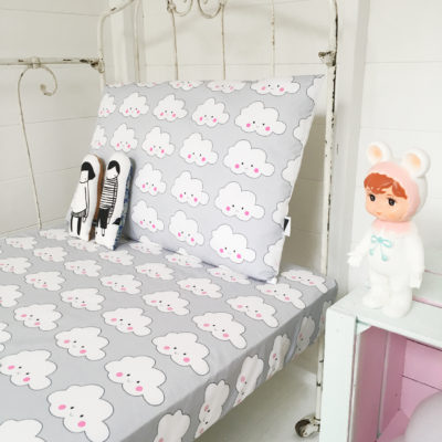 Cloud bedding fitted sheets