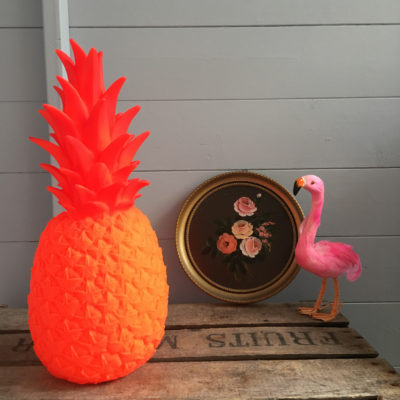 pina colada orange pineapple lamp