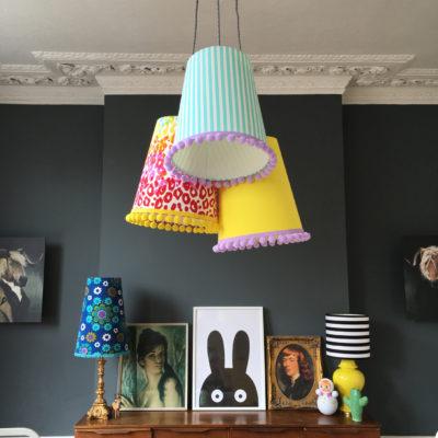 pompom,chandelier,lighting,lampshade