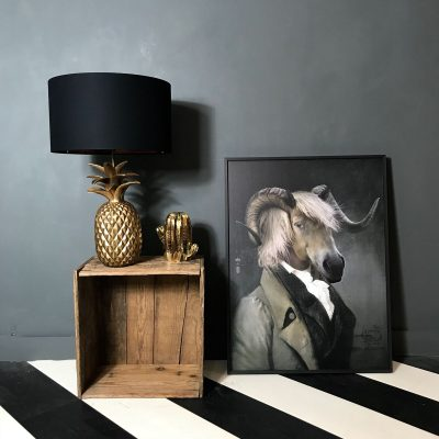 Pineapple Table Lamp and Chatterton Ibride Limited edition