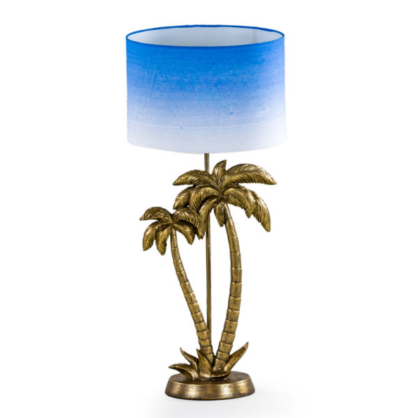 gold palm tree lamp