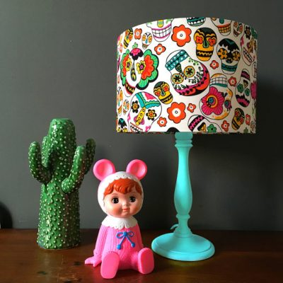 Shine bright like a diamond with our sparkle chops diamond handmade lampshade.
