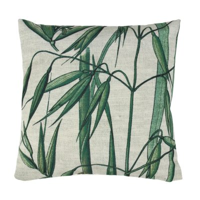 Bamboo Leaves Cushion