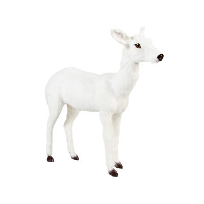 White Deer Ornament