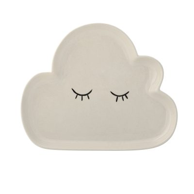 White Cloud Plate