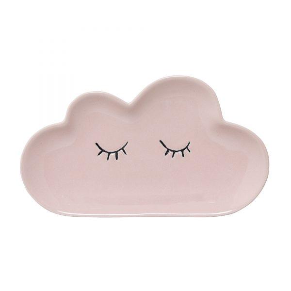 Pink Cloud Plate