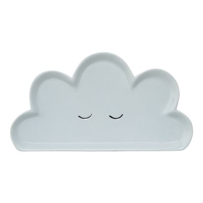 Blue Cloud Plate