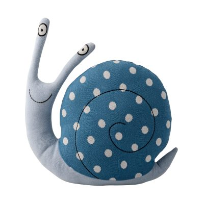 Miles Too Slow Knitted Snail Toy