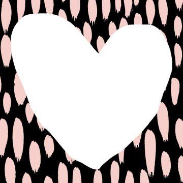Pink Love Rains Art Print