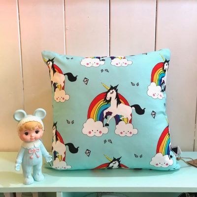 Love Frankie Rainbow Guy Cushion