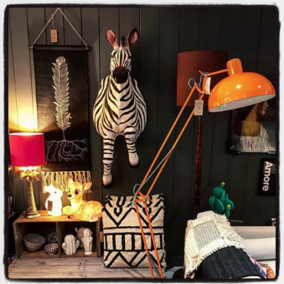 Larger Than Life Zebra Wall Hanging