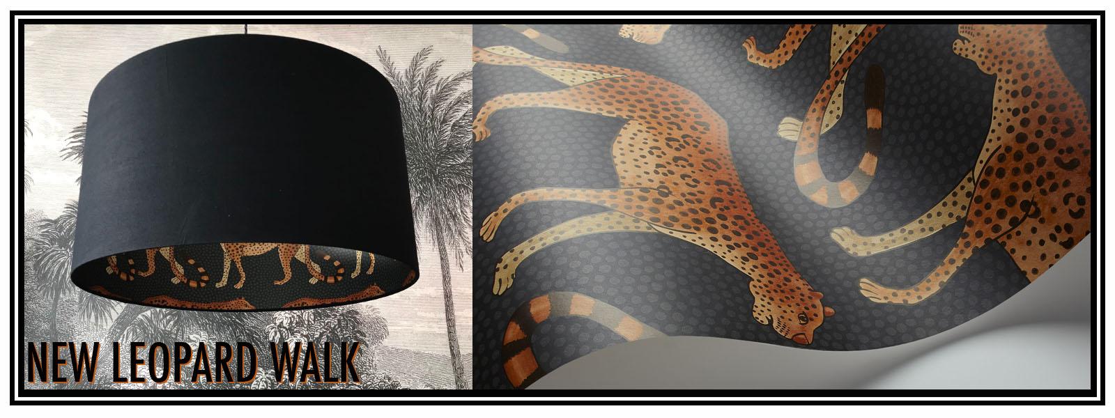 Cole & Son Leopard Walk Lampshade