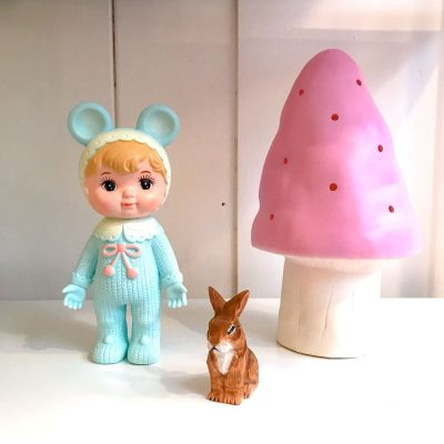 Limited Edition Woodland Doll in Sky Blue
