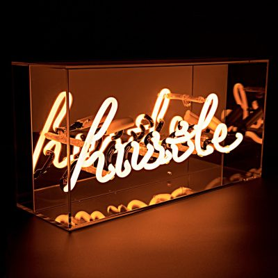 Hustle Neon Light box