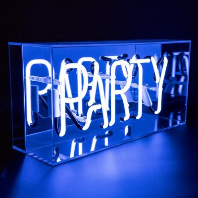 Neon Light Party Acrylic light box