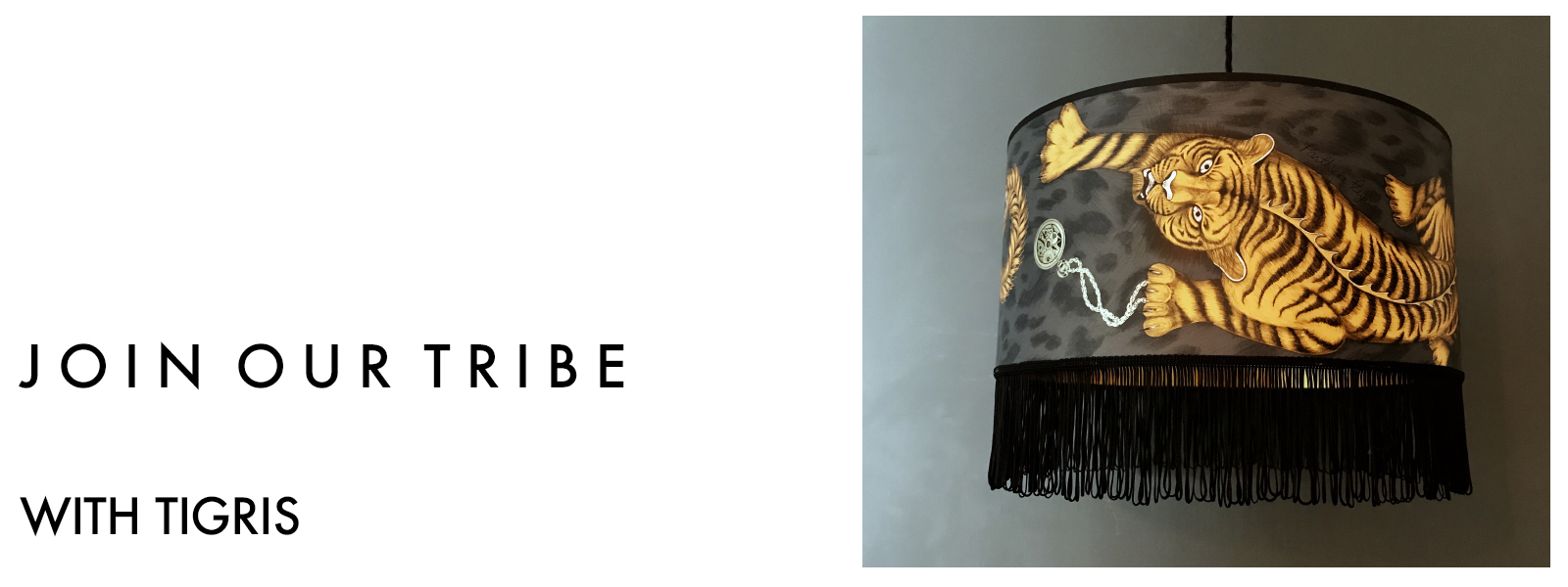 Wild Tribe Lampshade Collection