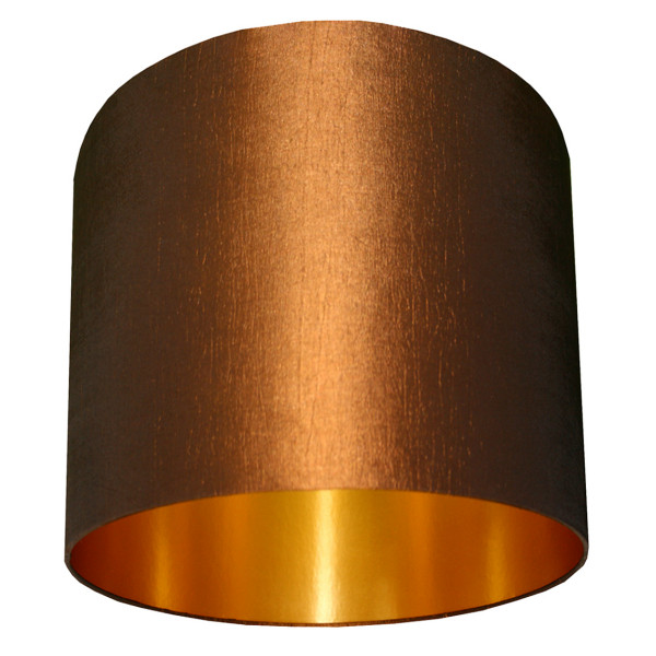 chestnut and gold lampshade