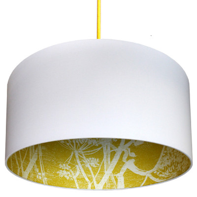 Cole & Son Cow Parsley Silhouette Lampshade
