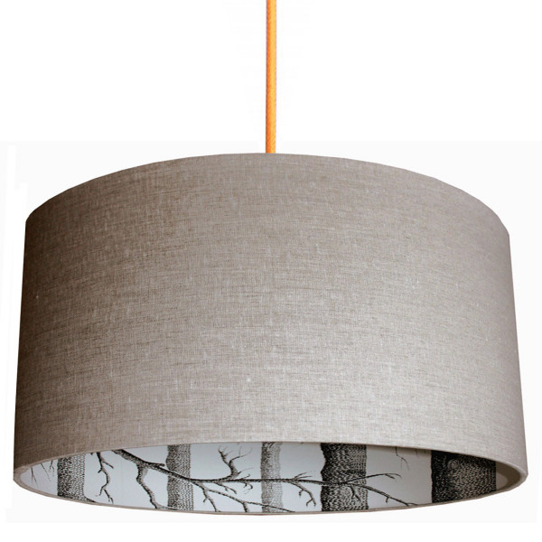 Cole Amp Son The Woods Wallpaper Lampshade In Linen Love