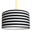 Circus stripe Black and white striped lampshade