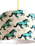 Wild horse lampshade