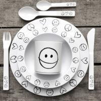 melamine tableware set for kids