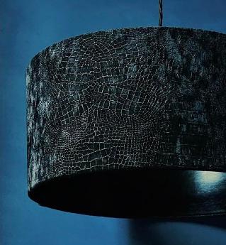 Close up Mock Croc fabric