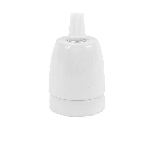 White Porcelain Bulb Holder