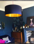 Showing us how its done, @comedowntothewoods our midnight blue and gold shade.