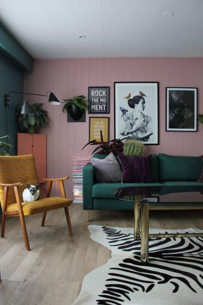 The gorgeous home of Simone Isaksen Via Design Sponge. @simzi88