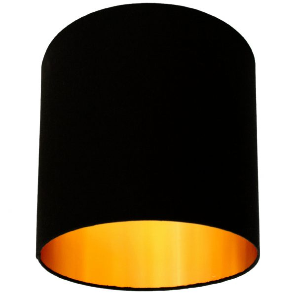 Black and Gold lampshade