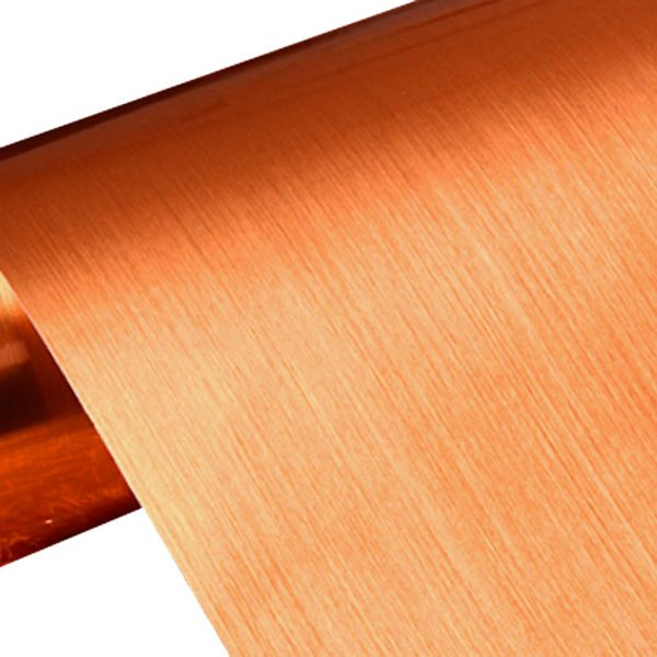 Example of copper lining