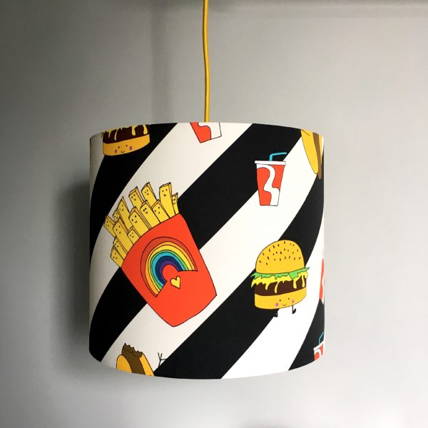 Junk Food Deluxe Lampshade