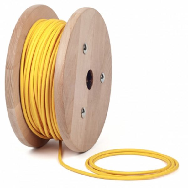 Yellow Lighting cable