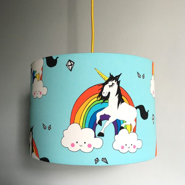 Unicorn Rainbow Lampshade