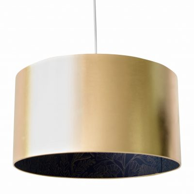 Coralline Silhouette shade in Midnight and Liquid Gold