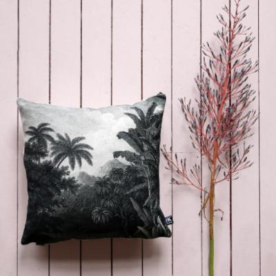 Tropical Jungle Print Cushion