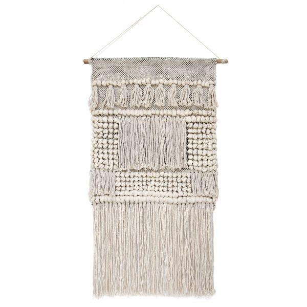 Natural Cotton Boho Wall Hanging