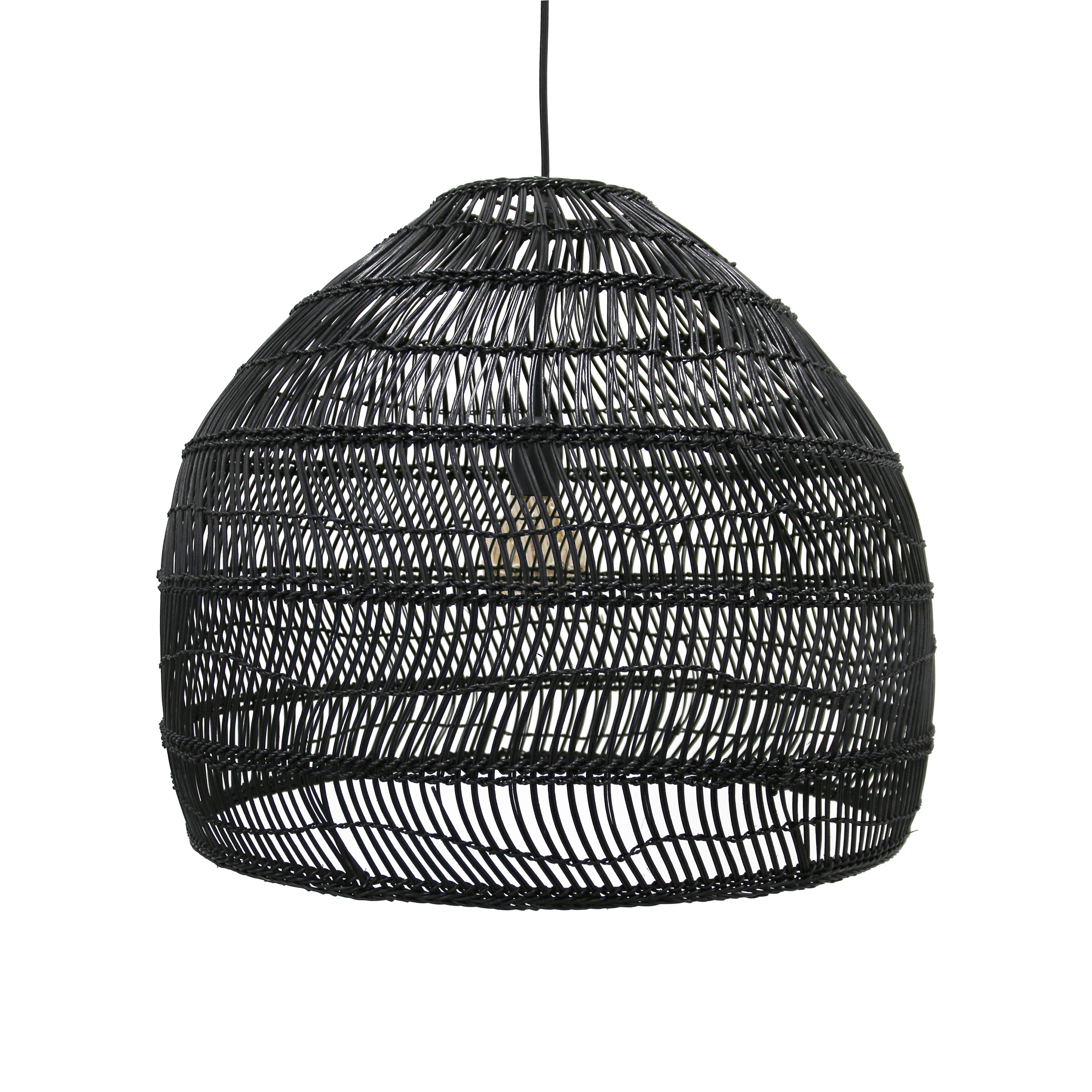 Woven Wicker Ceiling Pendant Light