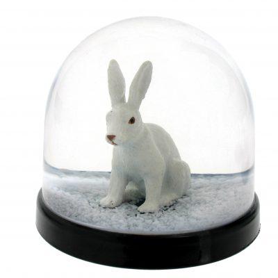 Little White Bunny Snowglobe