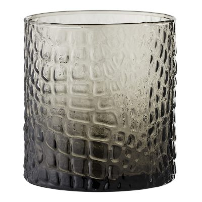Crocodile Print Glass Tumbler