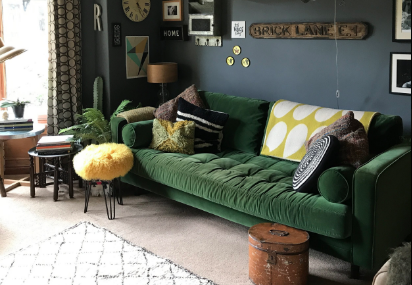 The Girl with the Green Sofa
