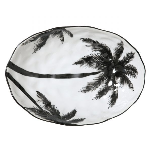 Jungalow Palm Trees Serving Platter