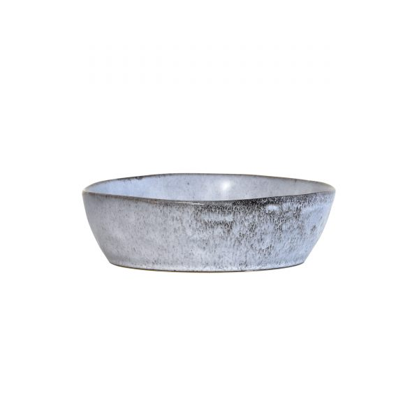 Rustic Speckled Grey Bowl