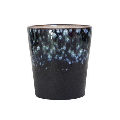70s ceramic mug - galaxy
